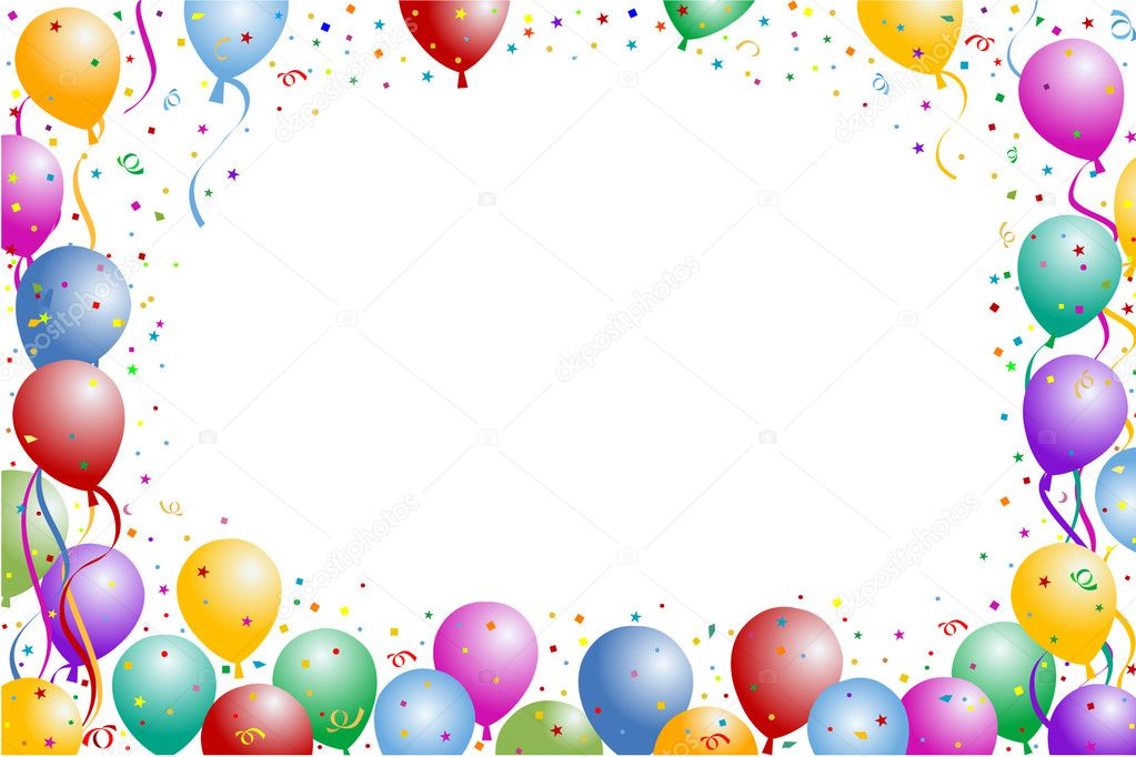 balloon frame stock illustration