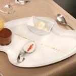 Restaurant dessert — Stock Photo