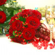 Stock Photo: Bunch of roses