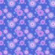 Colorful flowers background — Stock Photo