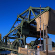 Delta Bridge  Walnut Grove HDR — Stock Photo