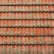 Royalty-Free Stock Photo: Red tile roof