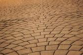 Expanding pavers horizontal — Stock Photo