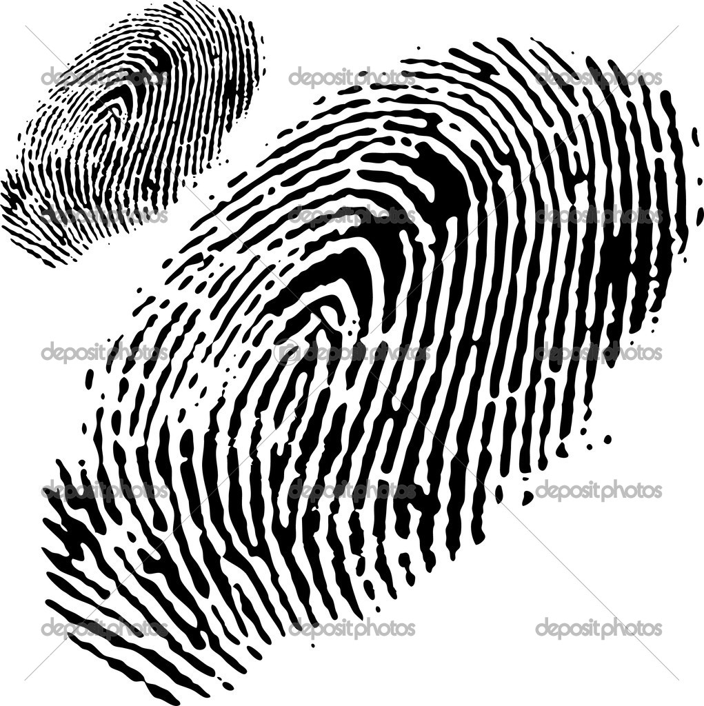 Concepts of fingerprints  Stock Vector #2528646