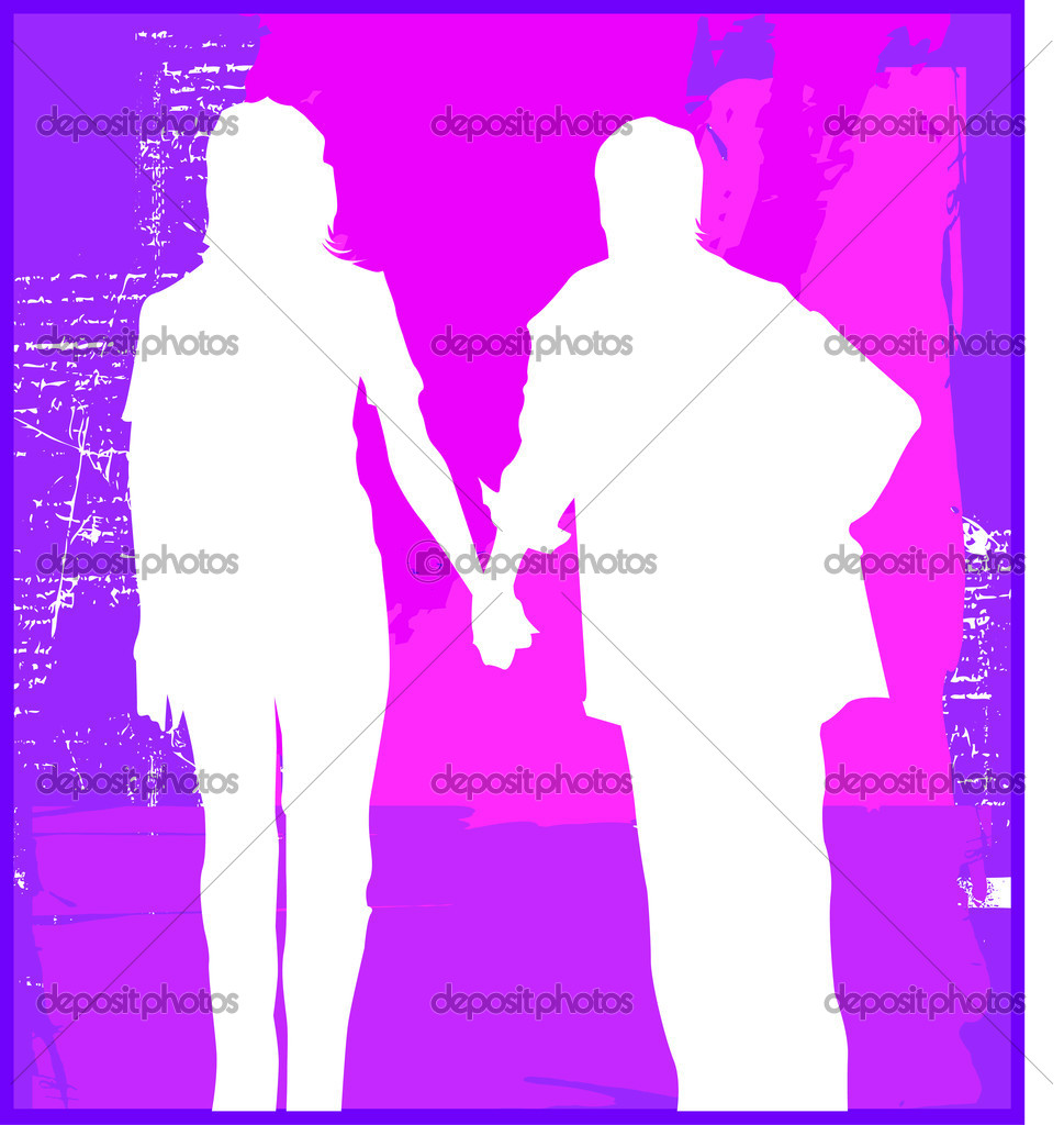 Concepts of couples  Stock Vector #2537991