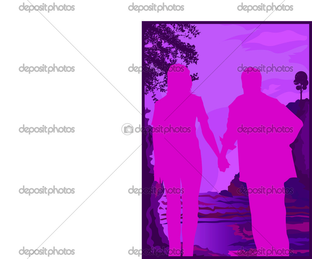 Concepts of couples — Stock Vector #2538022