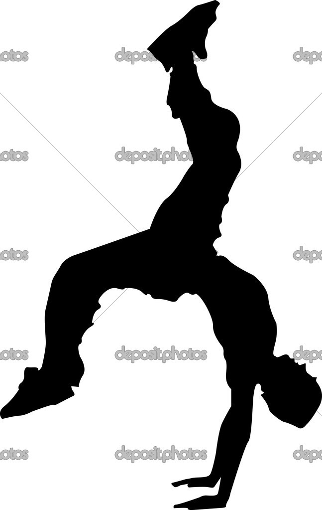 A concept of break dance — Stock Vector #2553995