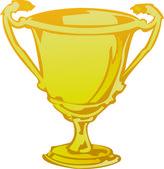Trophy — Stock Vector