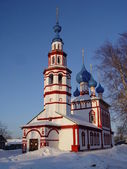 Church in the winter — Stock Photo