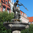 Stock Photo: Neptune statue in Gdansk