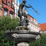 Neptune statue in Gdansk — Stock Photo