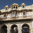 Stock Photo: Udaipur city palace in India