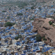 "Jodhpur the ""blue city"" in Rajasthan state in India. — Stock Photo"