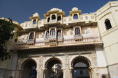 Udaipur city palace in India — Stock Photo