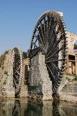 Hama water-wheel — Stock Photo