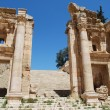 Ancient Jerash. Ruins of the Greco-Roman city of Gera at Jordan - Stok fotoğraf