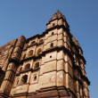 Palace in Orcha, Madhya Pradesh, India. - Stock Photo