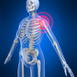 Stockfoto: Painful shoulder