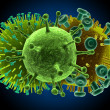 3d viruses — Stock Photo #2628919