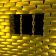 Gold cage — Stock Photo #2490682
