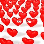 Hearts acquaintance — Stock Photo #2676429