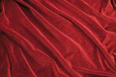 Tejido de terciopelo rojo — Foto de Stock