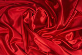 Red Satin/Silk Fabric 3 — Stock Photo