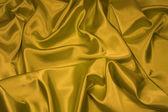 Gold Satin/Silk Fabric 1 — Stock Photo