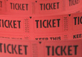 Tickets — Stock Photo