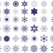 Snowflake — Stock Vector