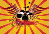 Grunge background — Cтоковый вектор