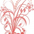 Floral design — Vector de stock #2567493