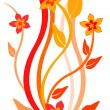 Stockvector : Floral background