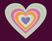 Valentine`s heart — Stockvektor