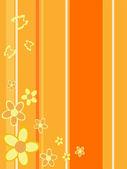 Sfondo floreale — Vettoriale Stock