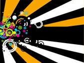 Retro kruhy — Stock vektor