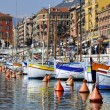Boats the port of Nice in France — Stock Photo