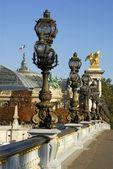 The bridge Alexandre III in Paris — Stock Photo