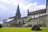 Church of Besse en Chandesse in France — Stock Photo