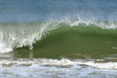 Wave on atlantic coast — Stock Photo