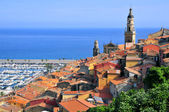 Town of Menton in France — Stock Photo