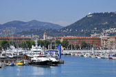 Port of Nice in France — Stock Photo