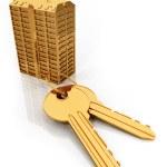 Gold keys — Stock Photo #2560395