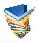 Pile of knowledge — Stock Photo