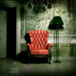 Royalty-Free Stock Photo: Grunge interior
