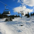 Ski lift — Stock Photo