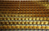 Rows or armchairs — Stock Photo
