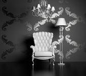 Moderní a luxusní interiér — Stock fotografie