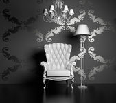Moderne luxe interieur — Stockfoto