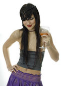 Party girl — Stock Photo